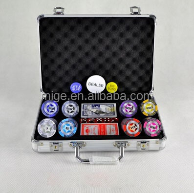 Casino 200 pc chip poker set Jack Daniels poker chip set( kl155)