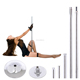 Stripper Workout Spinning Static Dance Pole Tube