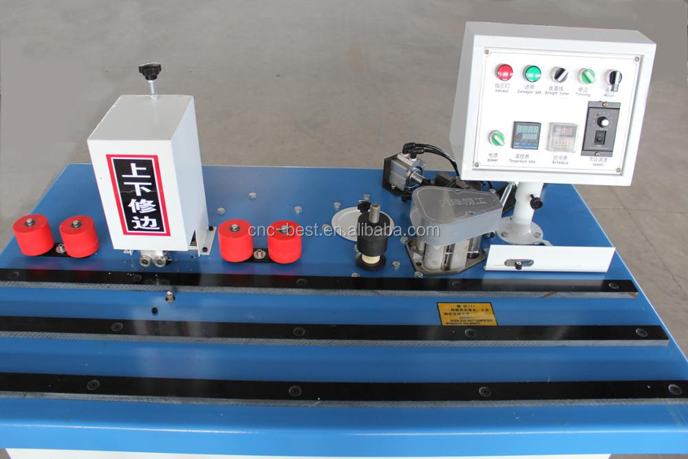 Curve And Straight Line Pvc Manual Edge Banding Machine With Double Side  Trimmer For Sale - Buy Manual Edge Banding Machine,Manual Edge Banding
