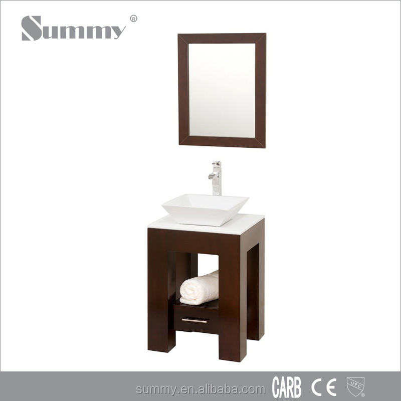 Small vanity and bathroom sink base cabints