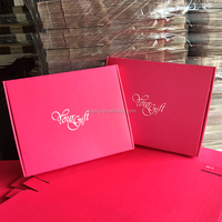 Pink Corrugated Mailer box and Corrugated Shipping box and corrugated board