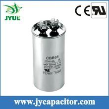 30uf 450v taizhou super capacitor cbb65 aluminum case air conditioner parts