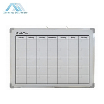 Calendar Dry Erase Board Magnetic Whiteboard Calendar Magnetic Wall