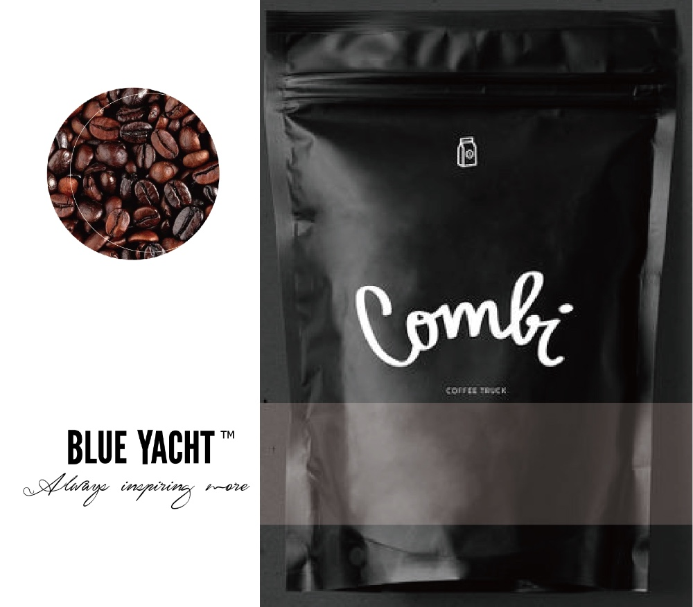 <strong>Black</strong> Coffee Packaging Bag with Zipper and Valve - 454/500g