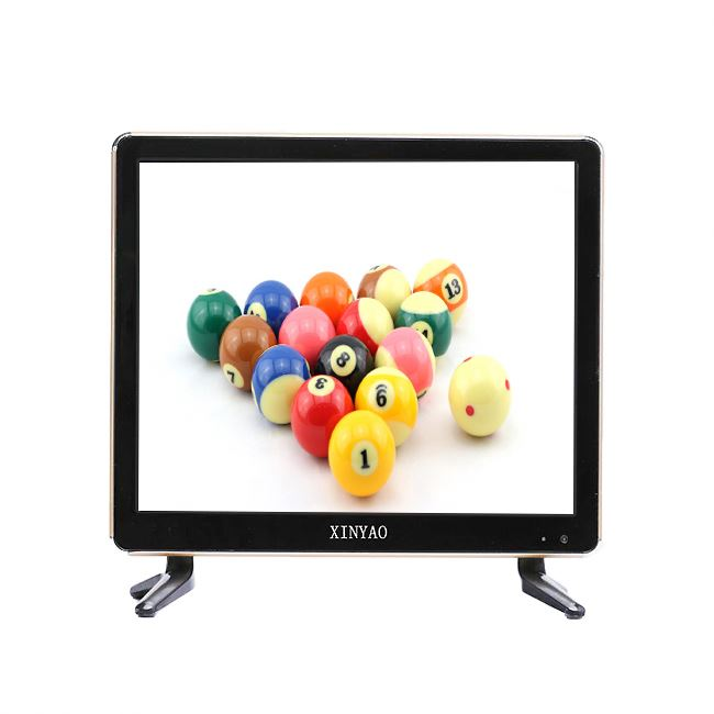 TV LCD de 17 polegadas com USB play TV LCD de VIDEO com preço de fábrica