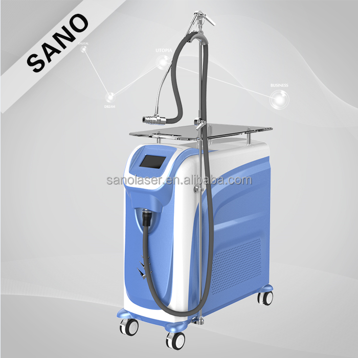 Professional skin treatment cool machine, laser acne treatment skin care machine, beauty parlour instrument