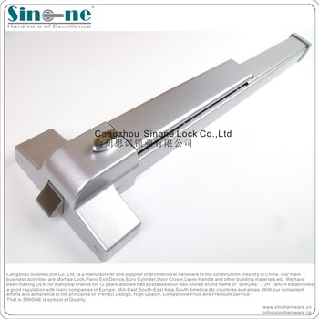 SINONE Fire Rated ANSI UL Steel Panic Exit Device Push Bar emergency fire door exit devices  sc 1 st  Wholesale Alibaba & Sinone Fire Rated Ansi Ul Steel Panic Exit Device Push Bar Emergency ...