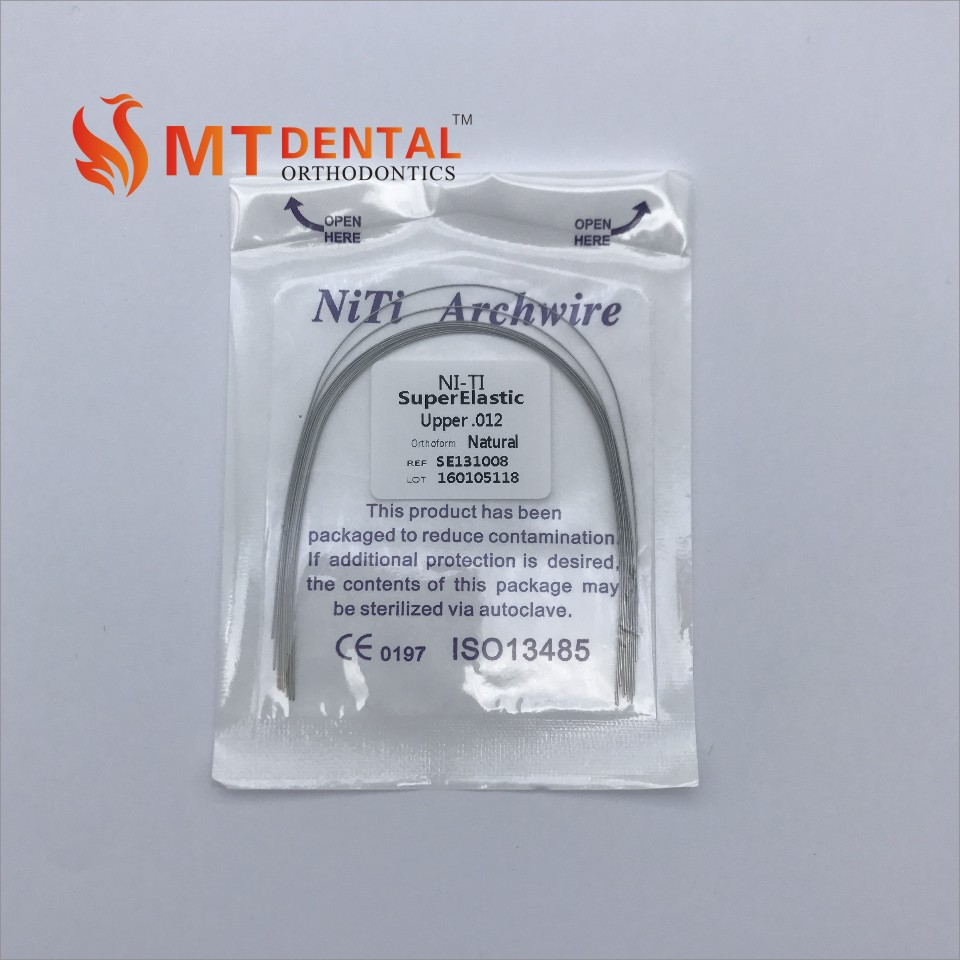 China Dental Orthodontic Niti Arch Wires For Braces - Buy Dental ...