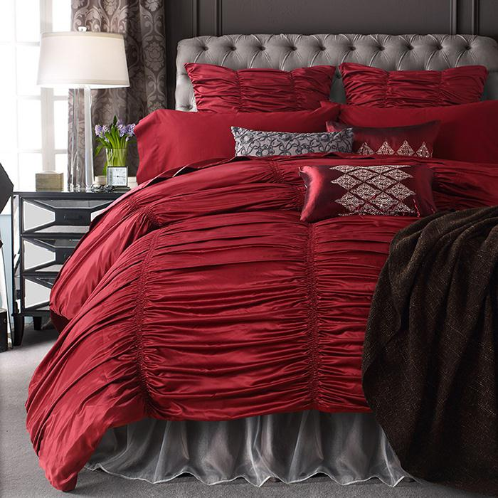 bedding comforter sets luxury red bed comforter set king size sheets bed  set - buy bedding comforter sets luxury,bed comforter set,sheets bed set