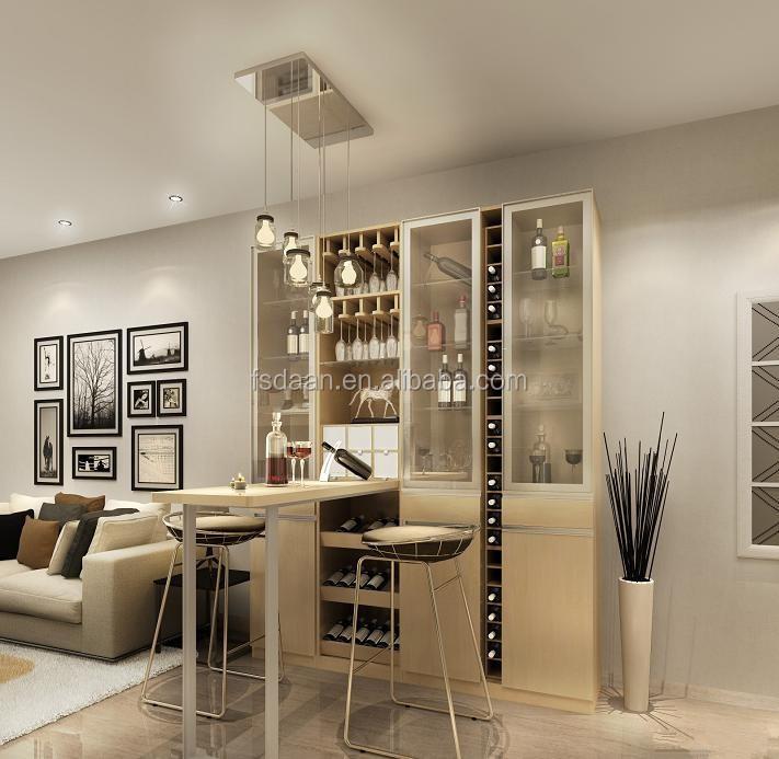Medium-sized Kitchen Wine Modern Wine Cabinet