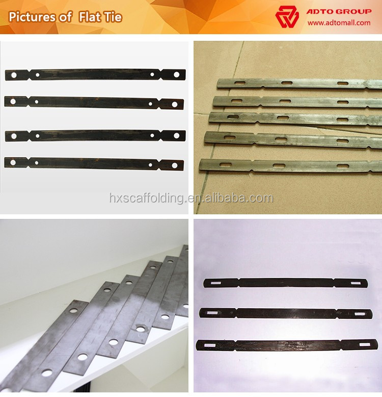Formwork Parts Nominal Wall Ties Full Wall Ties X Flat