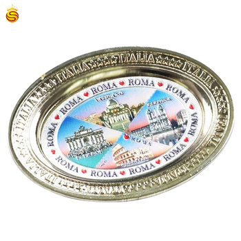 high quality custom souvenir Bydgoszcz City fridge magnet/custom 3d metal fridge magnet