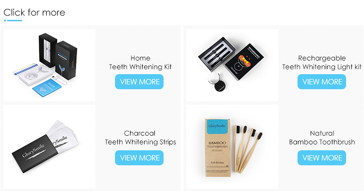 Glorysmile Bright Smile Daily Use Refresh breath Teeth Whitening Bamboo Charcoal MouthWash Oral Deep Clean