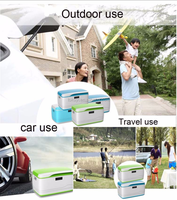 Coded Lock Storage Bin for Home, Car or Office use