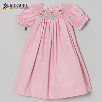 fdf942cdf0239 Fashion Design Children Boutique Clothing Baby Girls Smocked Dress For  Christmas