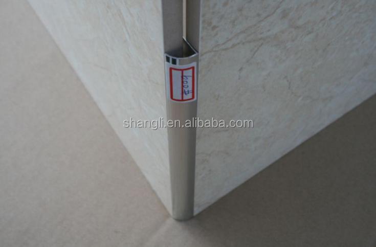 Protezione d angolo bordo di alluminio trim per piastrelle di