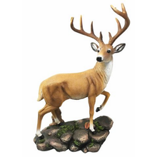 Factory Custom made beste woondecoratie gift <span class=keywords><strong>polyresin</strong></span> deer beeldjes