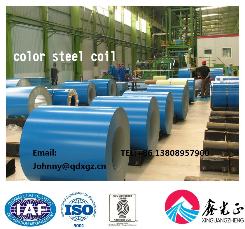 XGZ hot/cold rolled steel coils steel plate PPGI