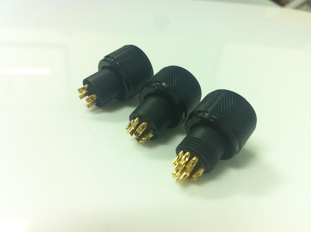 M12 Und M8 Lot Elektrische Mini-stecker 4-polig 8-pin-kabel M12 ...