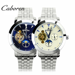 Caboren luxury brand automatic stainless steel mechanical mens watches brand