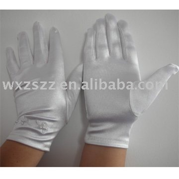 long stretch satin glove With Great Low Price