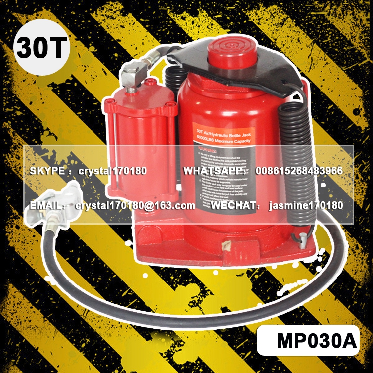 LHH-007 20 30 50 ton pneumatic air hydraulic bottle jack
