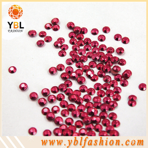 Hot sale wholesale new fashion high quality red/pink/green/blue/gold purple korean hotfix iron on rhinestud