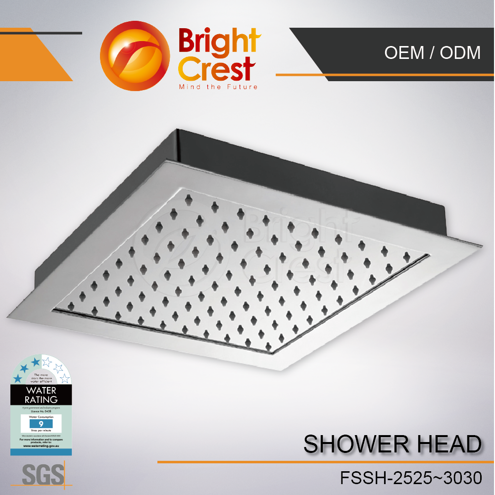 special shower head commercial style Three 3 Way bronze shower head for Colombia