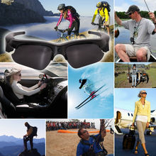 Picture Capturing 5mp Hidden Camera Light Weighted Sunglasses Camera