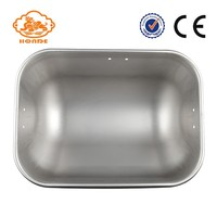 stainless steel pig feeder trough for farm equipment