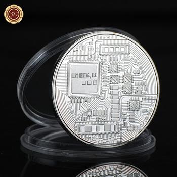 Wr 1 oz 999 silver plated bitcoin commemorative decentralized peer wr 1 oz 999 silver plated bitcoin commemorative decentralized peer to peer bitcoin challenge silver coin ccuart Gallery