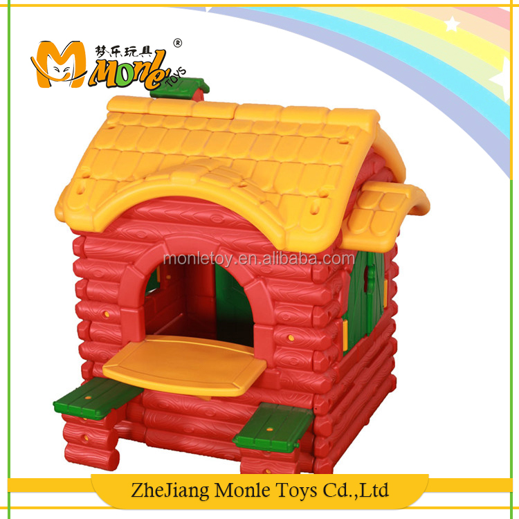 Hot sale baby favourites outdoor equipment forest huts kids plastic playhouse children play house