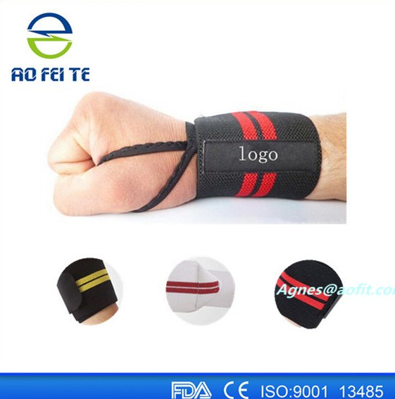 Wrist Wraps (Pairs) for Weight lifting/Crossfit/Power lifting/Bodybuilding - For Women & Men