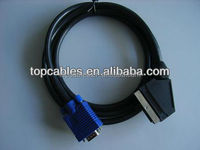 Custom Male to male VGA to scart Cable