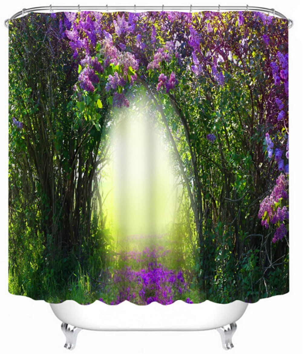 Cheap Green And Purple Shower Curtain Find Green And Purple