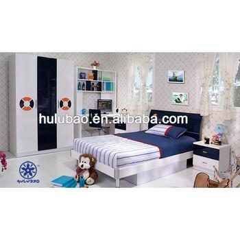 Uv Wooden Box Bed Design Children Bedroom Furniture Sets 3308 ...
