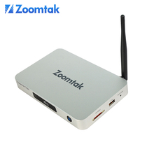 2016 Zoomtak amlogic 912 chip 2K4K removeable antenna qatar tv receiver
