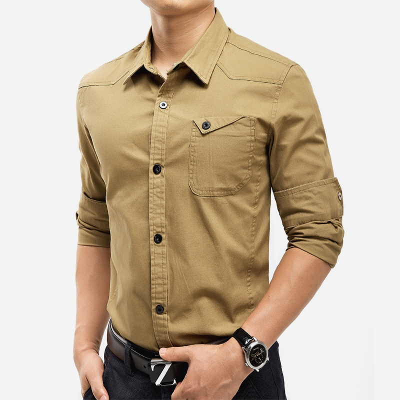 Cheap Button Up Long Sleeve Shirts For Mens, find Button Up Long ...