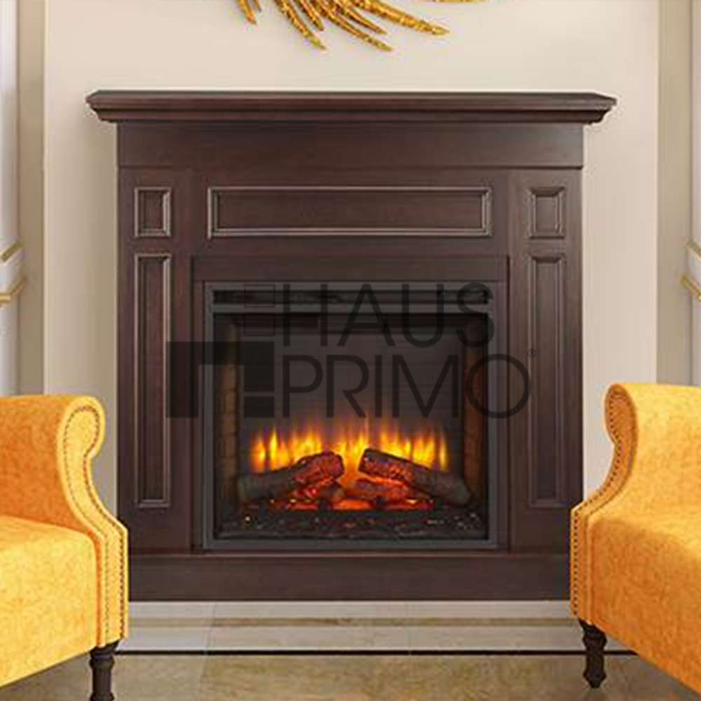 Hongjin Modren Corner Fireplace Mantel Parts