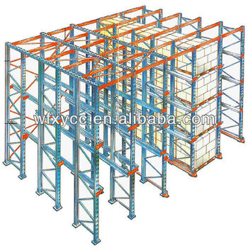 Drive in Racking System High Density Warehouse Storage Rack Easy Installation Buy Keyless