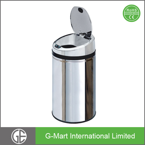 Home use smart iron stackable steel storage waste trash bins buy waste trash bins home use - Recycle containers for home use ...