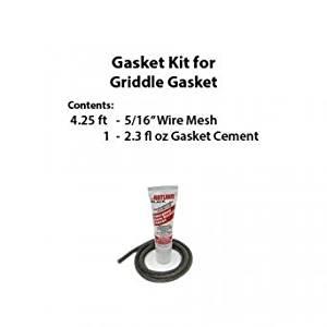 Rutland GK400 Gasket Kit For VT Casting Griddle Gasket