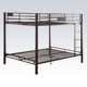 Stable fashion high quality metal futon bunk bed