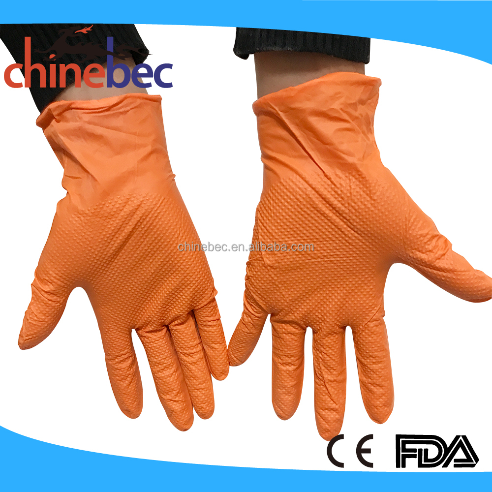 Food grade Powder Free Latex Hand Gloves manufacturers in China