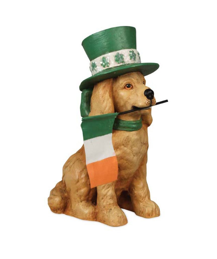 a900552e73e5 Get Quotations · Bethany Lowe St Patricks Day St Paddy's Dog Figurine