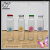 cute empty cylinder glass soft drinking bottle 300ml