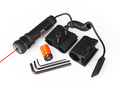 Red Dot Laser sight aimer pointer w Mount for 20mm Picatinny Rails Compact Adjustable Airsoft PP20