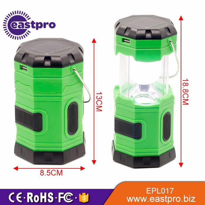 Factory Price Solar Usb Rechargeable Waterproof Portable Emergency ...