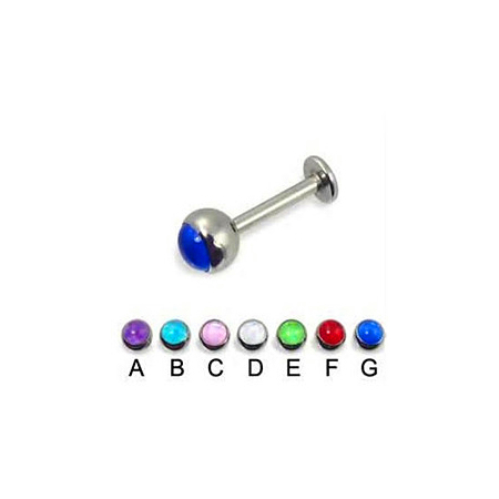 magnetic fake lip ring 316l steel piercing jewelry