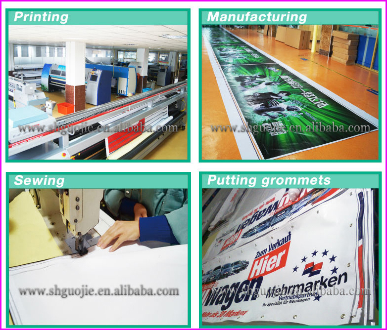 Promotional custom stretch advertising banner